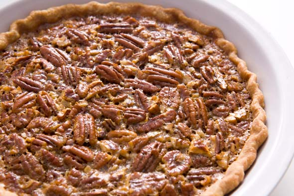 Salted Pecan Pie recipe