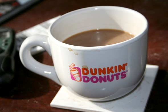 dunkin donuts coffee