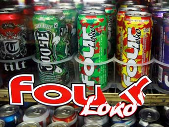 Four Loko cans