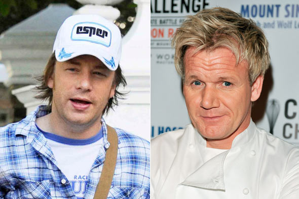 Jamie Oliver and Gordon Ramsay served endangered eel
