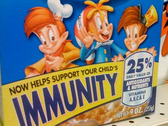 rice krispies immunity claims challenged