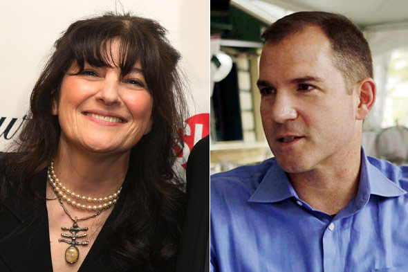 Ruth Reichl and Frank Bruni