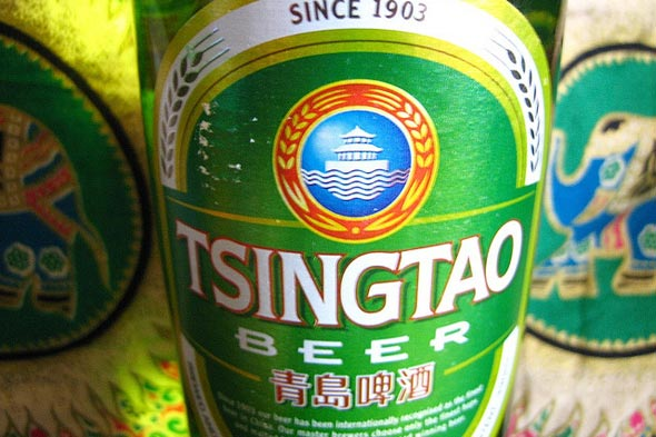 Tsingtao beer for Chinese New Year