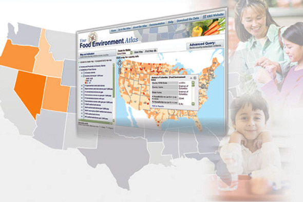 USDA food atlas maps