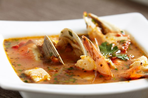 Cioppino fish stew from San Francisco
