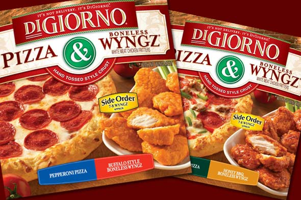 DiGiorno's pizza and wyngz