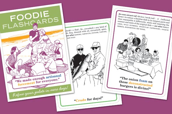 Foodie Flashcards