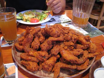 Hooters wings for Valentine's Day