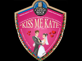 Kate Middleton Royal Wedding beer