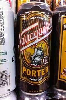 Narragansett porter can