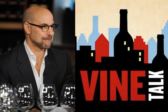 Stanley Tucci hosts wine talk show