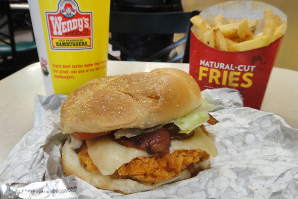 Wendy's Asiago Ranch Chicken Club