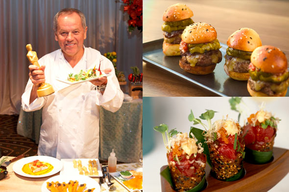 Wolfgang Puck Oscars menu