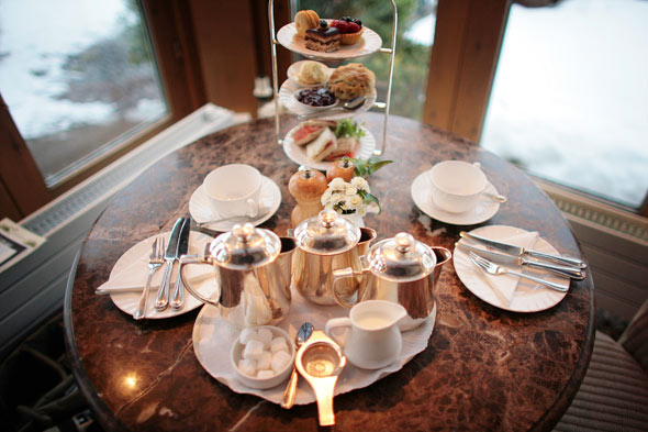 Afternoon tea party in NYC