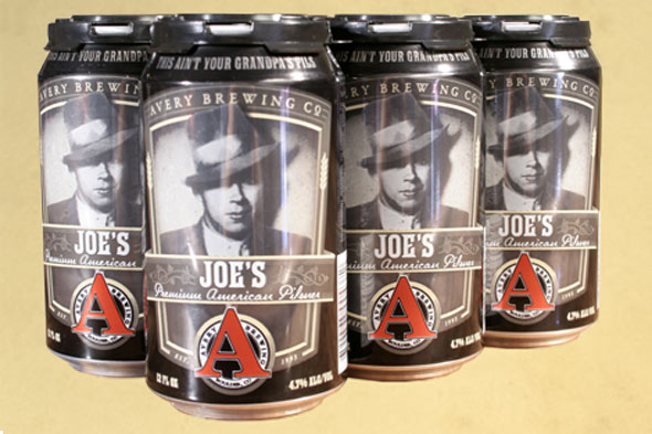 Avery Brewing Joe's Premium Pilsner