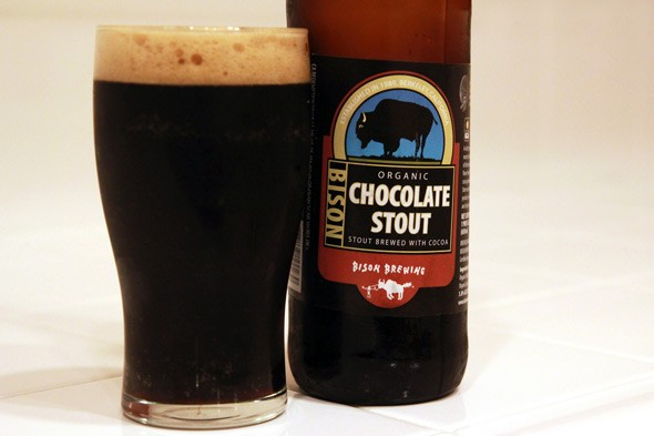 Bison Brewing Organic Chocolate Stout