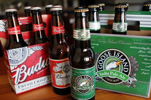 Goose Island Brewery bought by Anheuser-Busch