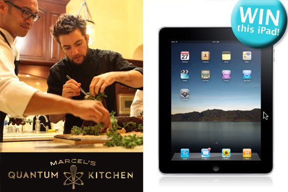 Apple iPad giveaway from Marcel's Quantum Kitchen