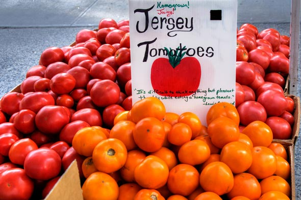 New jersey-grown tomatoes