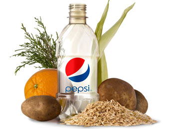 Pepsi's new plant-based bottle design