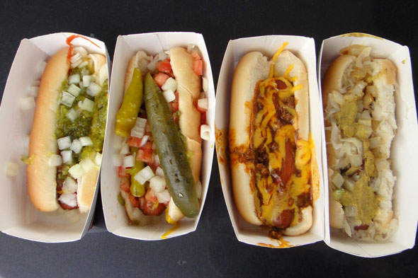 Sonic's Premium toppings hot dogs
