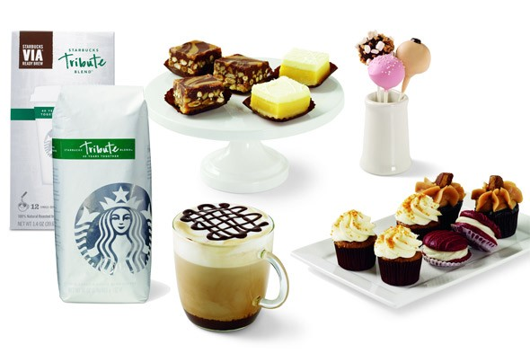Starbucks new products for 40th anniversary