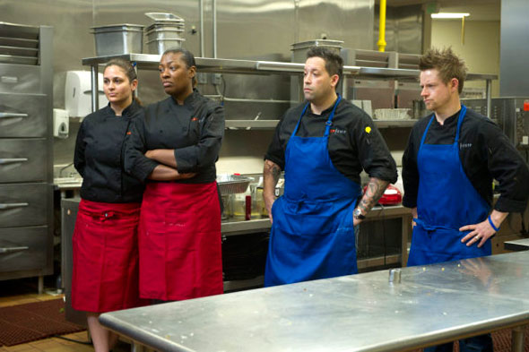 Top Chef elimination interview