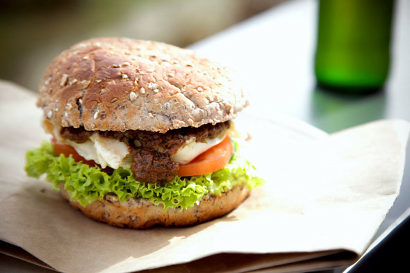 veggie burger
