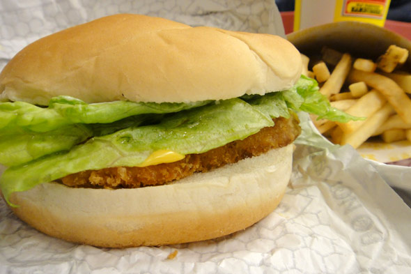 Wendy's Premium Fish Fillet Sandwich