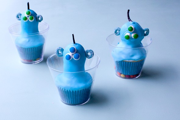 alien cupcakes recipe