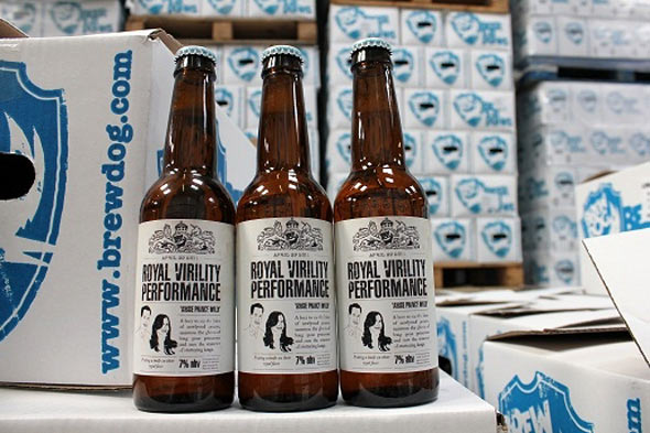 Royal Wedding 'Royal Virility Performance' Beer