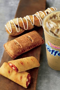 Dunkin Donuts new Hearty Snacks menu