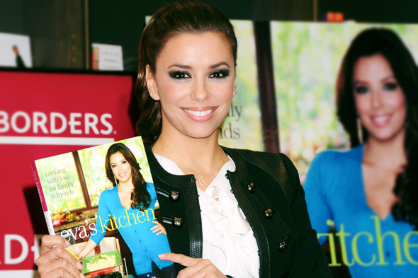 Eva Longoria's cookbook