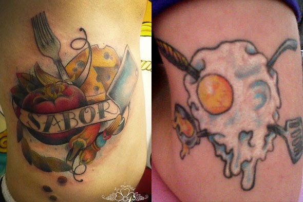 Chef Tattoos: Who's Sporting Ink In the Kitchen? - Slashfood