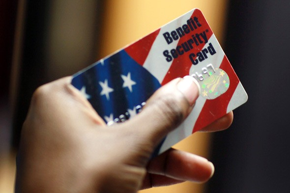 federal food stamps debit card