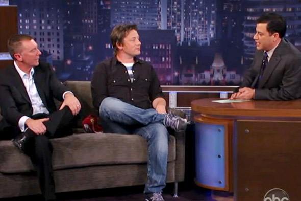 Jamie Oliver on Jimmy Kimmel Live 4/26