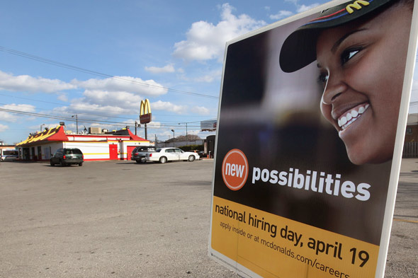 McDonald's national hiring day, April 19 2011