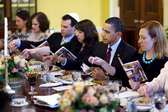 President Obama's White House Seder