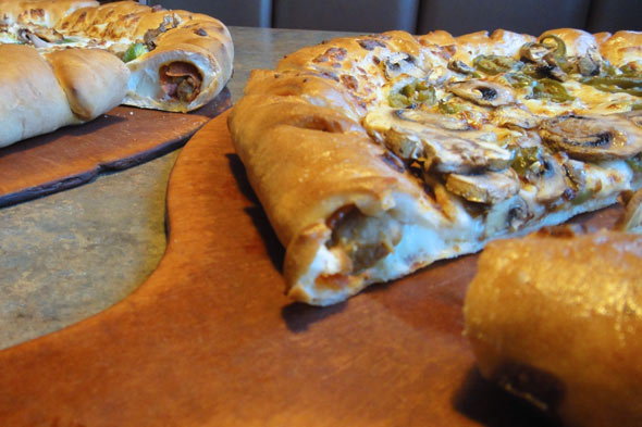 Pizza Hut's Ultimate Stuffed Crust Pizza