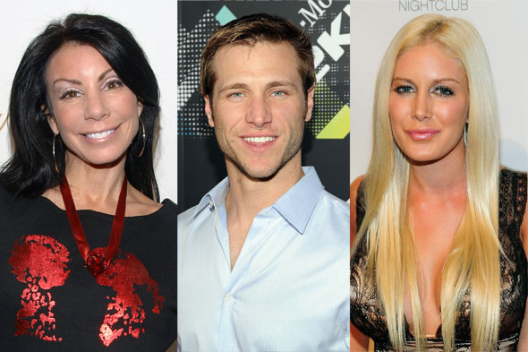 Danielle Staub, Jake Pavelka, and Heidi Montag