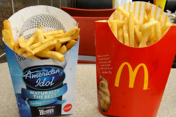 Wendy's Fries vs. McDonald's Fries