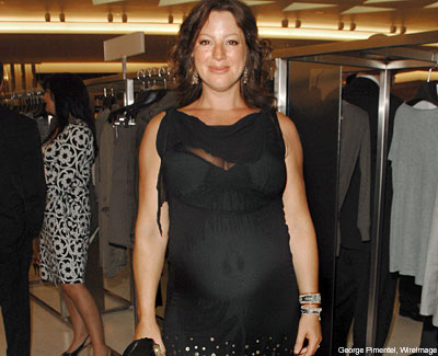 ... a very pregnant Sarah McLachlan was spotted on a Hawaiian beach while ...