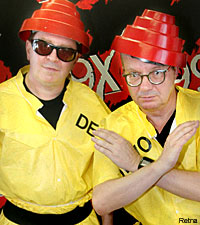 Devo's Gerald Casale and Mark Mothersbaugh