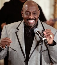 Otis Williams of the Temptations