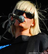 Sharin Foo of the Raveonettes