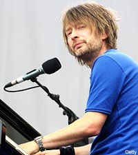 Thom Yorke of Radiohead