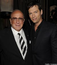 Clive Davis With Harry Connick Jr.