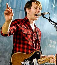 Alex Kapranos of Franz Ferdinand