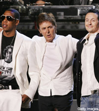 Jay-Z and Paul McCartney and Linkin Park