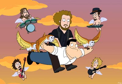 My Morning Jacket on 'American Dad'